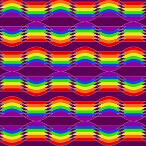 Sine Rainbow (Purple)