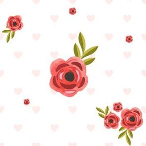 "7"" Hearts & Roses"