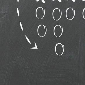 Game plan chalkboard LARGE 27x36