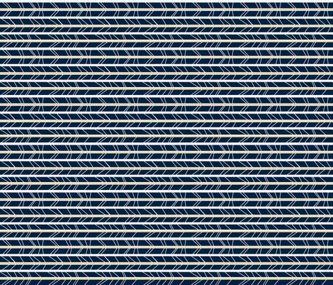navy mustard tree branch herringbone - Rotated fabric by modfox on Spoonflower - custom fabric