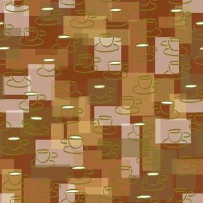 Cuppa Cappuccino Joe-Maroon-Retro