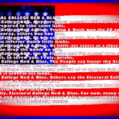 Electoral College Red And Blue