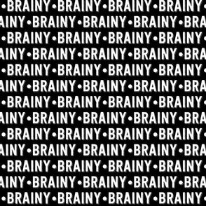 Brainy Text | Black