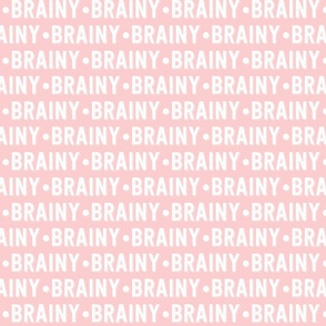 Brainy Text | Provincial Pink