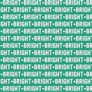 Bright Text | Gossamer