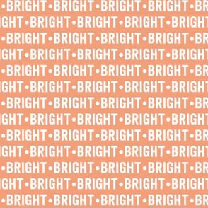 Bright Text | Dark Salmon