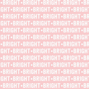 Bright Text | Provincial Pink