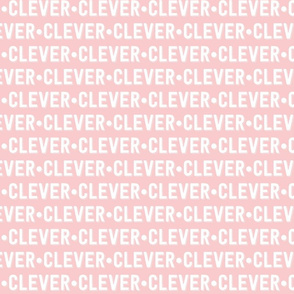 Clever Text | Provincial Pink