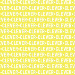 Clever Text | Yellow