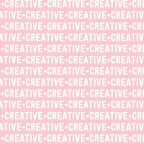 Creative Text | Provincial Pink