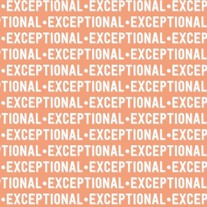 Exceptional Text | Dark Salmon