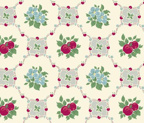 Apple Betty fabric by bradbury_&_bradbury on Spoonflower - custom fabric