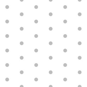 mini dots // grey fabric white and grey design nursery baby mini dots fabric