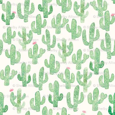 Cactus Print (Large)