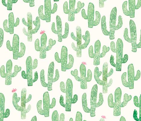 Cactus Print (Large) fabric by shelbyallison on Spoonflower - custom fabric
