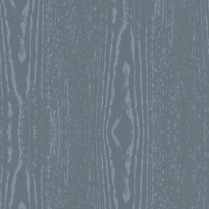 Wood Grain Slate Blue Rustic Wedding wood knot_Miss Chiff Designs
