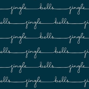 Teal Jingle Bells