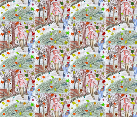 Autumn fabric by palusalu on Spoonflower - custom fabric