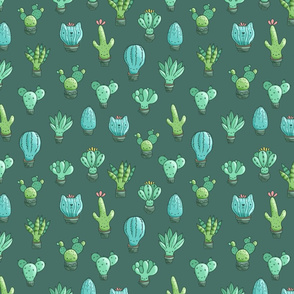 cacti pattern MEDIUM