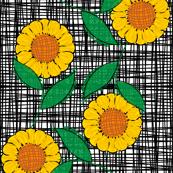 sunflower_crosshatch_8