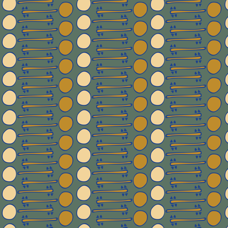 Linear Banjos fabric by cleolovescolor on Spoonflower - custom fabric