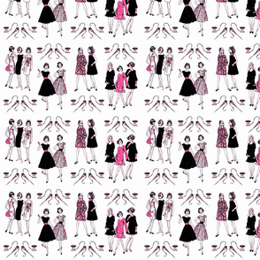 Sew Pink & Black