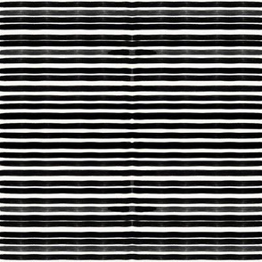 Tiny stripes, marker stripes - black and white stripes, monochrome