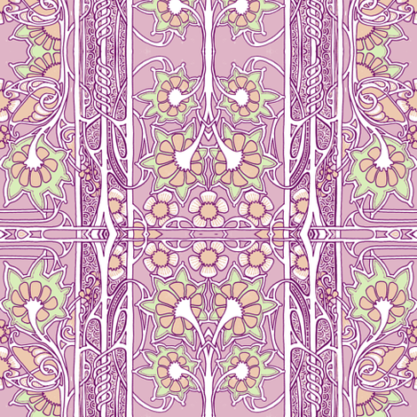 In a Formal Edwardian Garden fabric by edsel2084 on Spoonflower - custom fabric