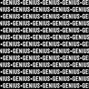 Genius Text | Black