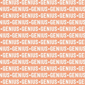 Genius Text | Dark Salmon