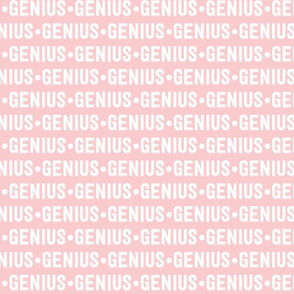 Genius Text | Provincial Pink