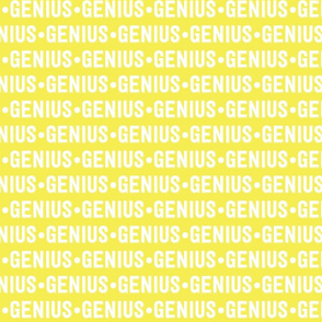 Genius Text | Yellow