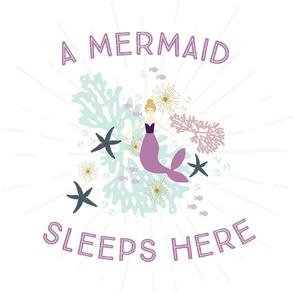 A Mermaid Sleeps Here Lovey // Laguna Blonde