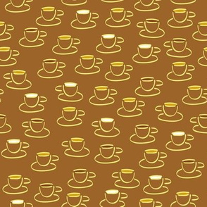 Cuppa Joe- Cups on Coffee