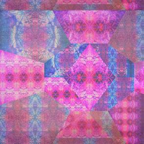 Amethyst Geo Mosaic II