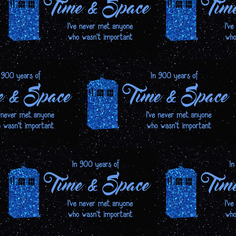 Important in time and space fabric dexlarprice spoonflower for Space and time fabric