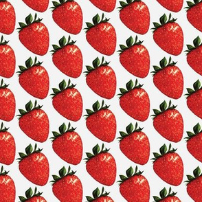 Strawberry  - White