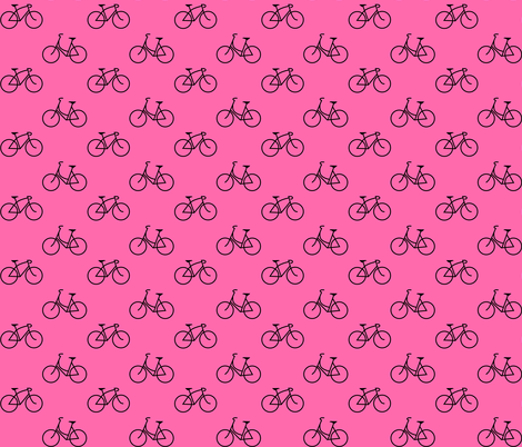 His and Hers Pink fabric by interrobangart on Spoonflower - custom fabric