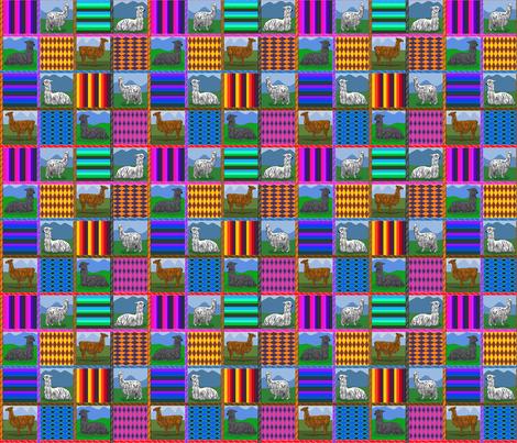 Peru_6x6 fabric by leroyj on Spoonflower - custom fabric
