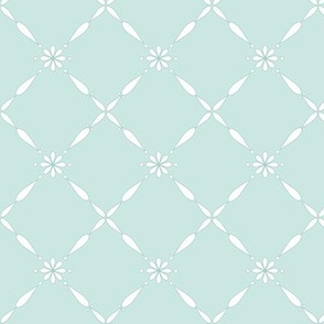 Charlotte Farmhouse Diamond Green Grey