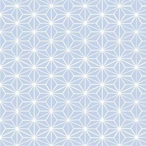 Star Grid Mirror Periwinkle