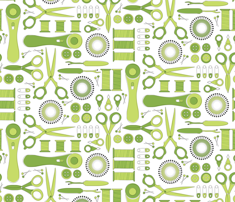 Notion to sew fabric by ebygomm on Spoonflower - custom fabric