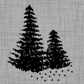 """8"""" Quilt block - Pines"""