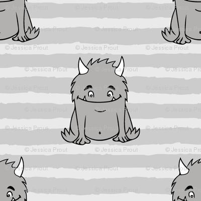 little Monsters    grey