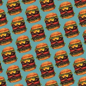 Double Cheeseburger Test Swatch