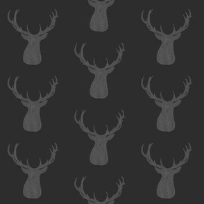 Deer on Gray