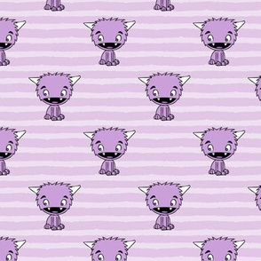 Little monsters 2 || purple