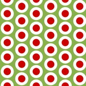 Rrrrrwidely_spaced_small_red_dots_in_w_on_greenery_shop_thumb