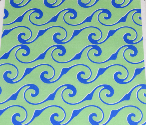 Endless Blue Waves