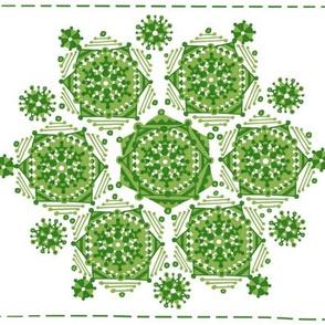 Greenilicious quilt